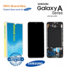 Genuine LCD Screen & Digitizer with Frame For Samsung Galaxy A70 SM-A705
