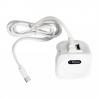 3.1 Amp iShine Smart Type C + USB Charger - White