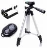 DK-3888 Portable & Foldable Camera Mobile Tripod Bluetooth Wireless