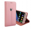 Genuine XUNDD Noble Series pouch for Samsung S7 Edge Rose Gold