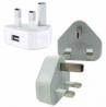 iGlow Triangle Ireland USB Plug Charger Adapter White: