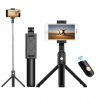 K-07 Mobile Phone Bluetooth Selfie Stick With Tripod