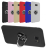 Ring TPU Protective Phone Case With Ring Holder For Samsung Galaxy J4 Plus