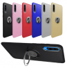 Ring TPU Protective Phone Case With Ring Holder For Samsung Galaxy A50 SM-A505