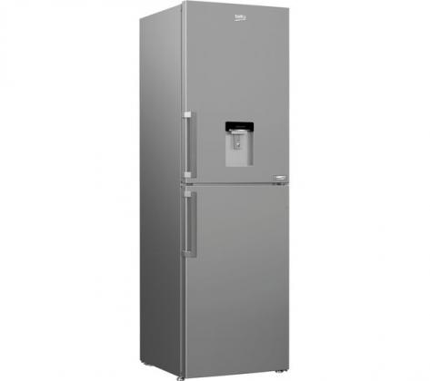 BEKO HarvestFresh CFP3691DVS 50/50 Fridge Freezer - Matte Silver
