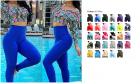 RIOJOY Women Honeycomb Anti Cellulite Waffle Leggings, High Waist Yoga Pants Bubble Textured, Scrunc