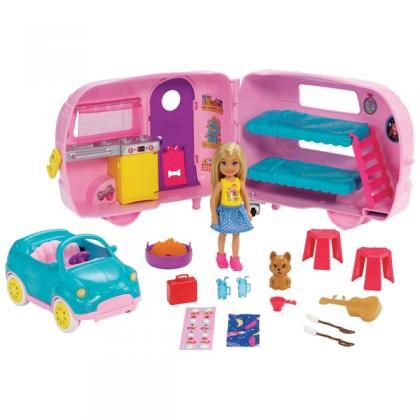 Barbie Club Chelsea Camper with Accessories
