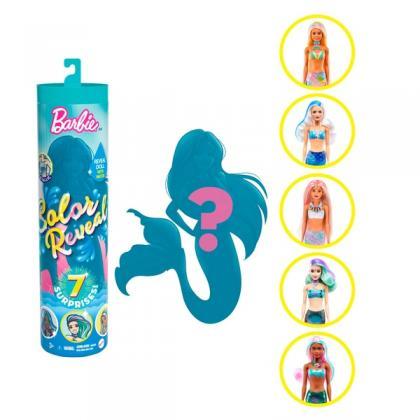 Barbie Colour Reveal Mermaid Doll with 7 Surprises Assortment