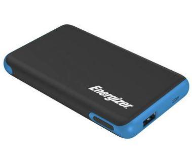 Energizer Max Polymer 5000mAh Portable Power Bank - Black