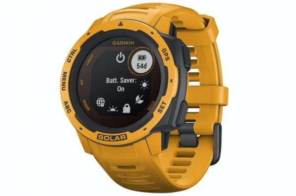 Garmin Instinct Solar Outdoor Smartwatch | Sunburst
