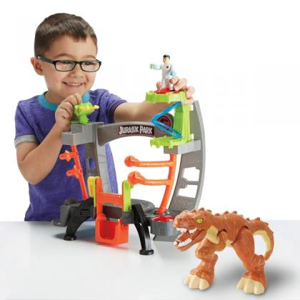 Imaginext Jurassic World Research Lab Playset
