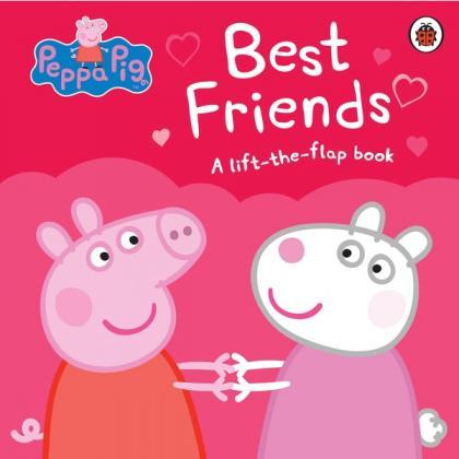Peppa Pig Best Friends Lift-the-Flap Book