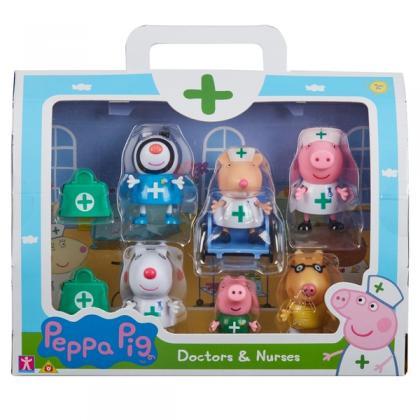 Peppa Pig Doctor and Nurses 6 Figure Pack