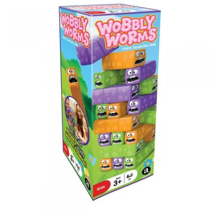 Wobbly Worms - Tower Balancing Game