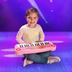 37 Key Electronic Keyboard Pink