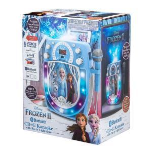 Disney Frozen 2 Bluetooth CDG Karaoke with Light Show
