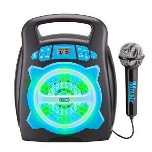 iHome Sound Factory Kids' Karaoke Machine ek-553 Blue & Black