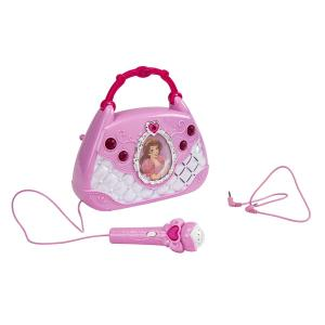 Princess Toy Boombox with Microphone