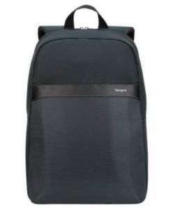 Targus GeoLite 15.6 Inch Laptop Backpack - Black/Slate Grey