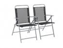 Argos Home Atlantic Steel Set of 2 Folding Chairs