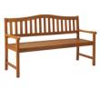 Argos Home Henrietta Wooden 3 Seater Bench