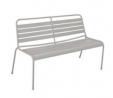 Argos Home Metal 2 Seater Garden Bench - Grey