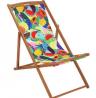 Argos Home Wooden Deck Chair - Ipanema Fruit