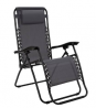 Argos Home Zero Gravity Metal Sun Lounger - Grey