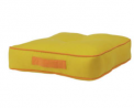 Habitat Bright Floor Cushion - Mustard