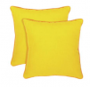 Habitat Cushion 2 Pack - Yellow