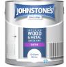 Johnstone's Quick Dry Satin Paint 2.5L - Brilliant White
