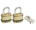 Master Lock Excell 45mm Laminated Padlock - Pack of 2.