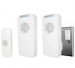 Uni-Com Premium Portable and Plug-in Doorbell Set