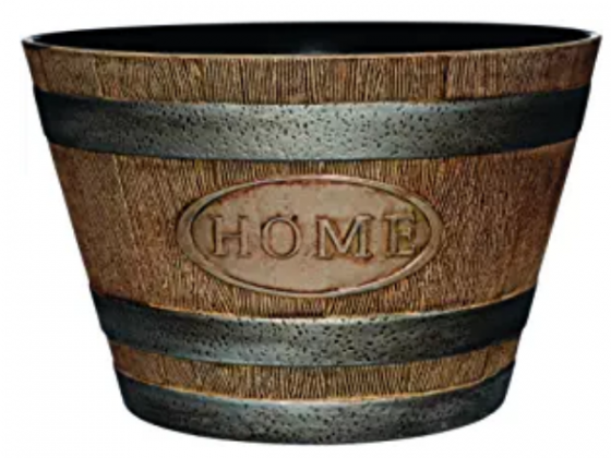 Classic Home and Garden 70 Whiskey Barrel, 15