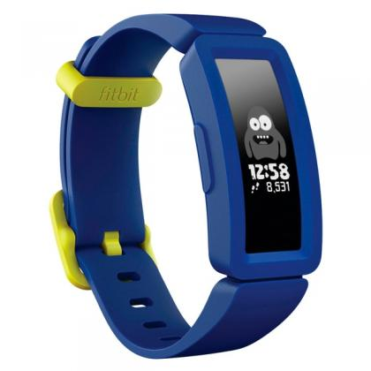 Fitbit Ace 2 Activity Tracker For Kids 6+ - Night Sky With Neon Yellow