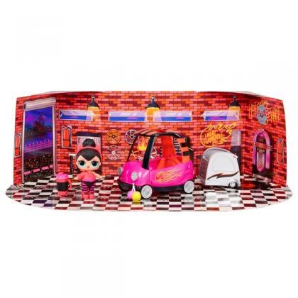 L.O.L. Surprise! Furniture BB Auto Shop and Spice Doll