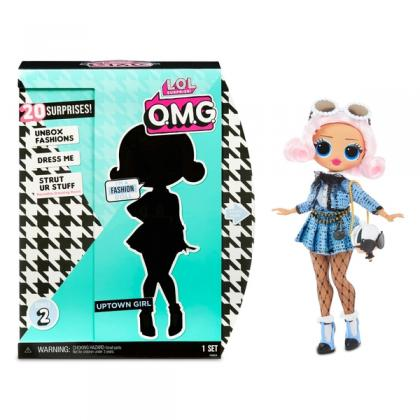 L.O.L. Surprise! O.M.G. Uptown Girl Fashion Doll with 20 Surprises