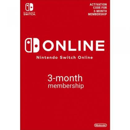 Nintendo Switch 3 Months Individual Online Membership (Digital Download)