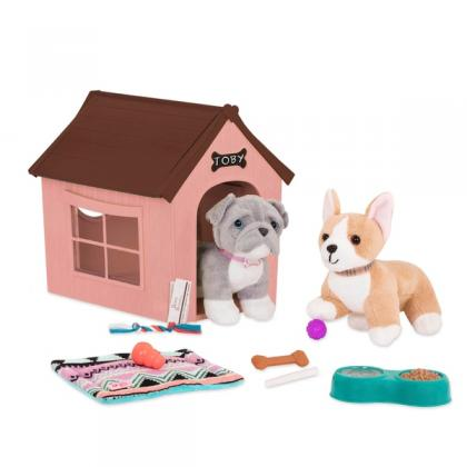 Our Generation Dog House Set