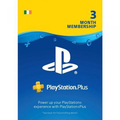 PlayStation Plus 3 Month Membership (Digital Download)