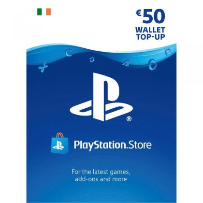 PlayStation Store €50 Wallet Top Up