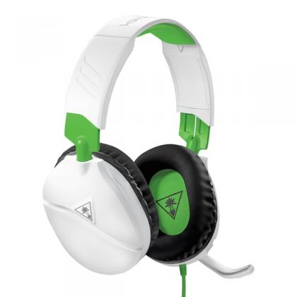 Turtle Beach Recon 70x White Gaming Headset for Xbox, Xbox Series X, PS5, PS4,