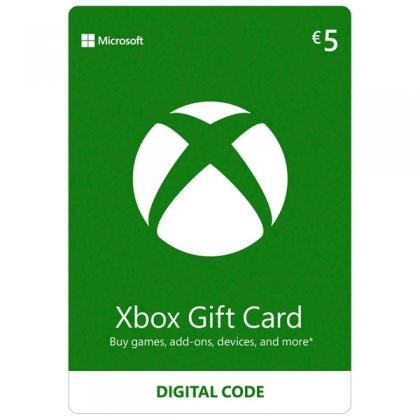 Xbox €5 Wallet Top Up Digital Download