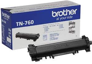 Brother Genuine High Yield Toner Cartridge, TN660, Replacement Black Toner, Page Yield Up To 2,600 P