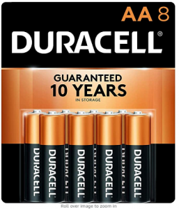 Duracell - CopperTop AA Alkaline Batteries - Long Lasting, All-Purpose Double A battery for Househol