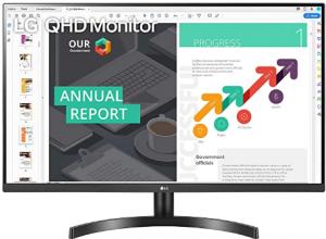 LG 32QN600-B 32-Inch QHD (2560 x 1440) IPS Monitor with HDR 10, AMD FreeSync with Dual HDMI Inputs,