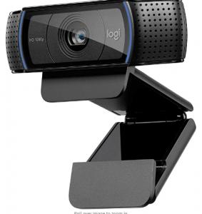 Logitech HD Pro Webcam C920, Widescreen Video Calling and Recording, 1080p Camera, Desktop or Laptop