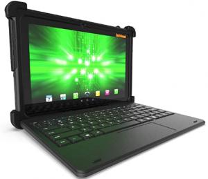MobileDemand Flex 10A Android 9.0 Pie Rugged Touchscreen Tablet w/Keyboard | Ultra Lightweight | 10.