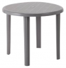 Argos Home Round 4 Seater Garden Table - Light Grey