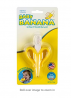 Baby Banana - Yellow Banana Toothbrush, Training Teether Tooth Brush for Infant, Baby, and Toddle